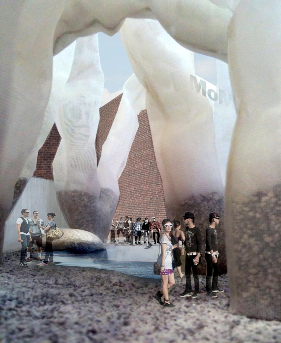 formlessfinder 2011 proposal for MoMA PS1 YAP summer pavilion