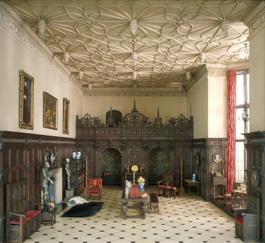 E-1 English Great Room of the Late Tudor Period