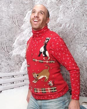3 ugly sweater