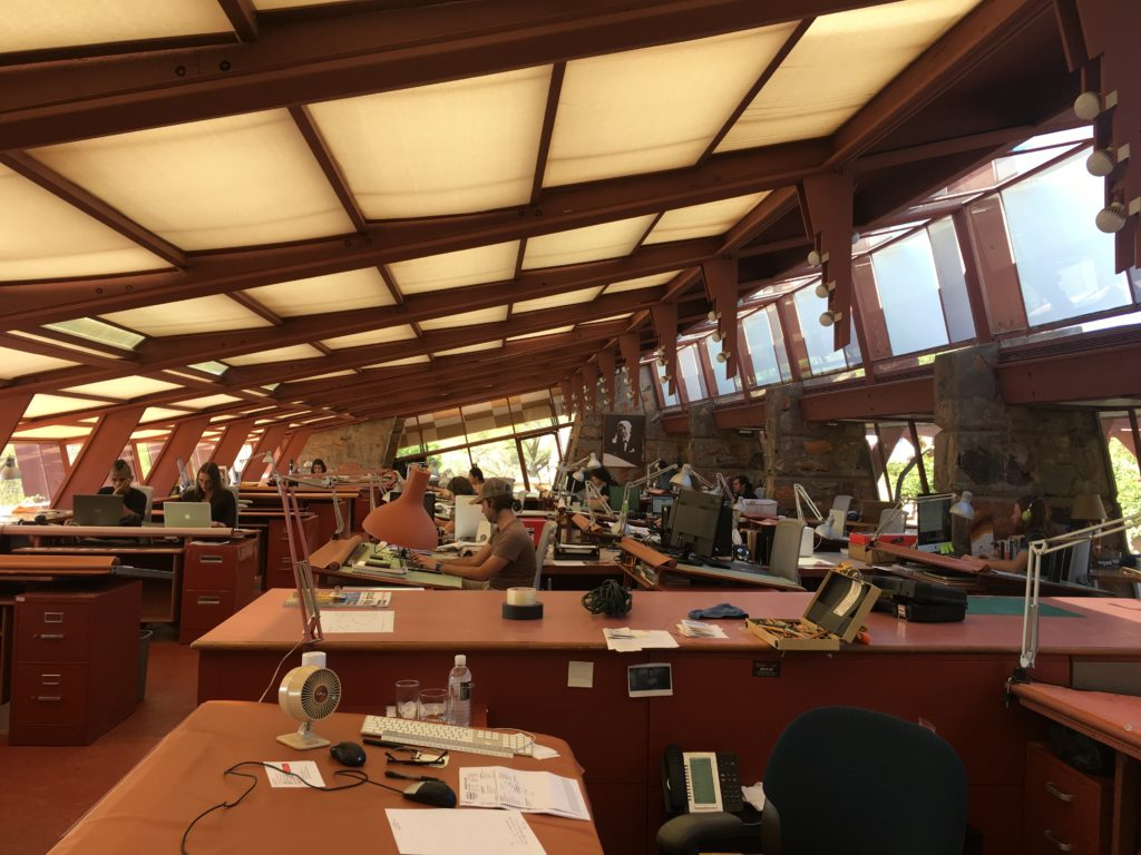 The School of Architecture at Taliesin West