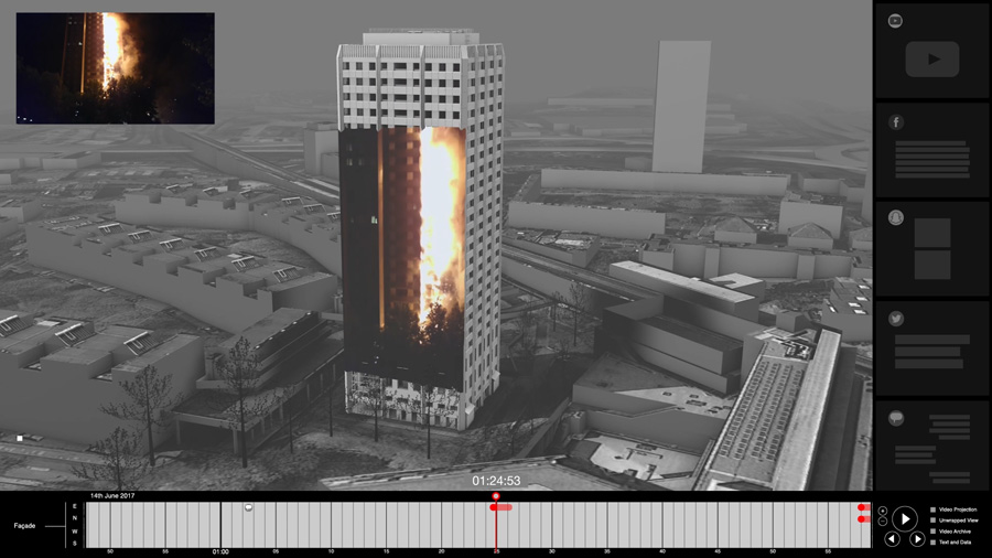 Forensic Architecture Grenfell Tower